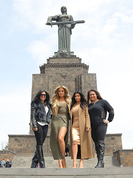 kim kardashian 01 435 - Kardashians in Armenia