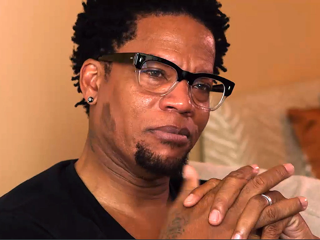 DL Hughley Breaks Down Talking About His Son With