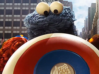 Watch Cookie Monster Hulk Out in Sesame Street's Avengers Parody (Video)