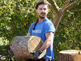 PHOTO: Shia LaBeouf Goes Full-On Lumbersexual (But Don't Worry, He's Still Got the Rattail)