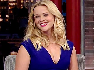 David Letterman Jokes That He's the Father of Reese Witherspoon's Daughter