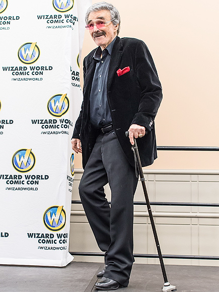 Burt Reynolds at Wizard World Comic Con