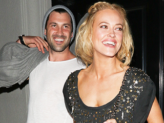 Peta Murgatroyd and Maksim Chmerkovskiy Step Out Holding Hands