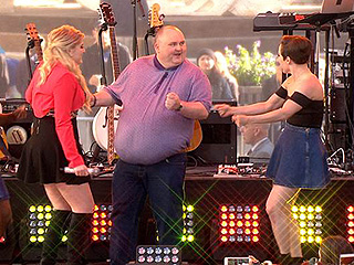 Meghan Trainor Boogies with the Internet's Famous 'Dancing Man'