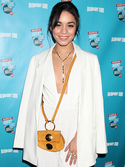 Vanessa Hudgens Reveals in Emotional Speech that Her Father's Battling Stage Four Cancer