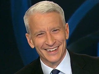 VIDEO: Watch Anderson Cooper Become Incapacitated by a Giggle Fit in CNN Blooper Reel