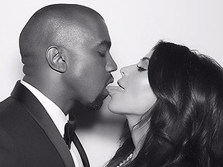 Kim Kardashian Shares Tongue-Kiss Photo with Kanye West on Her Anniversary