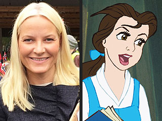 Norway's Princess Mette-Marit Looks Like Frozen's Elsa but Thinks Like Book-Loving Belle (She Turned Her Carriage into a Library!)