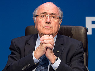 FROM SI: FIFA Suspends Sepp Blatter for 90 Days