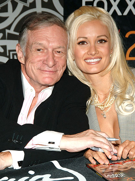 Hugh Hefner Responds to Holly Madison's Playboy Mansion Claims