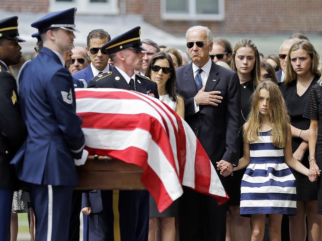 Beau Biden's Funeral: 1,000 Fill the Church