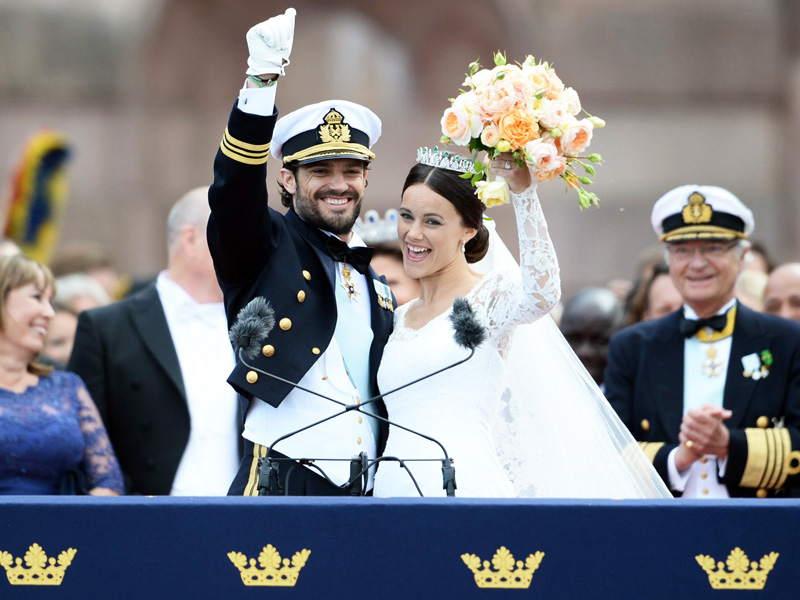 Swedish Royal Wedding: Prince Carl Philip and Sofia Hellqvist Wed