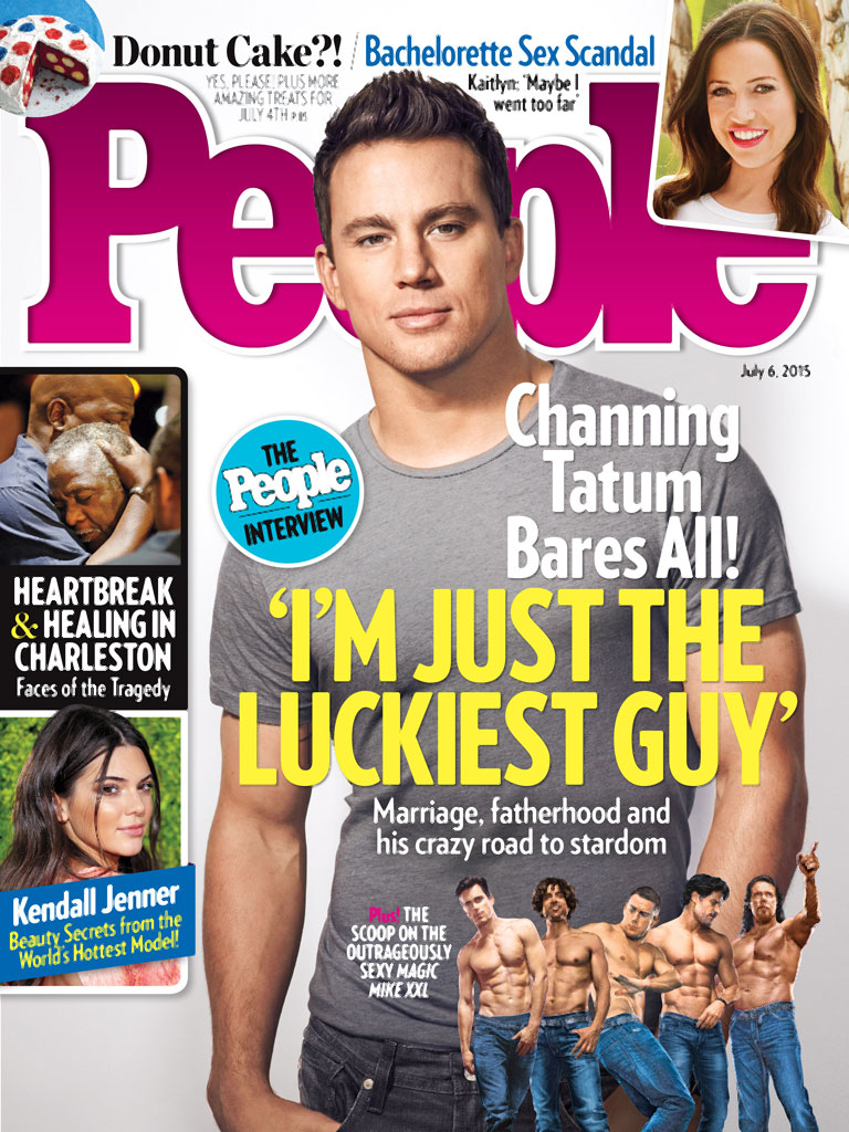 Channing Tatum Talks Marriage and Fatherhood