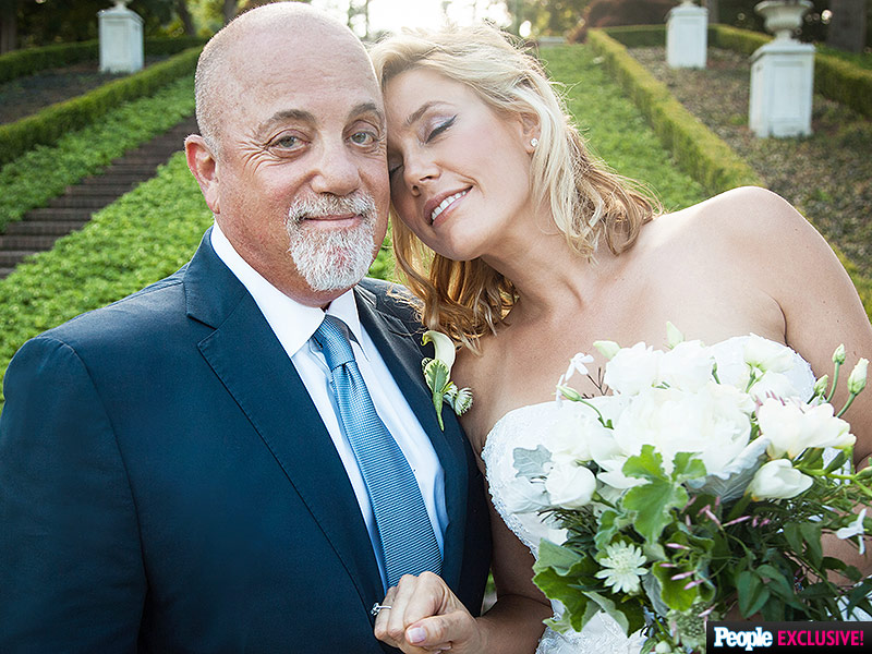 Billy Joel Gets Married to Alexis Roderick