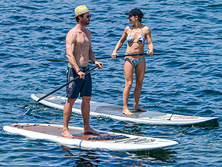 Chris Hemsworth and Elsa Pataky Show Off Their Enviable Beach Bodies on Vacation in Corsica