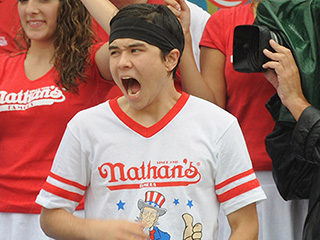 Dethroned! Matt Stonie Defeats 8-Time Champ Joey Chestnut in Nathan's Annual Hot Dog-Eating Contest