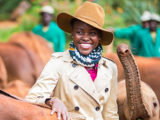 Lupita Nyong'o Partners with Wildlife Conservancy to Save Elephants in Kenya