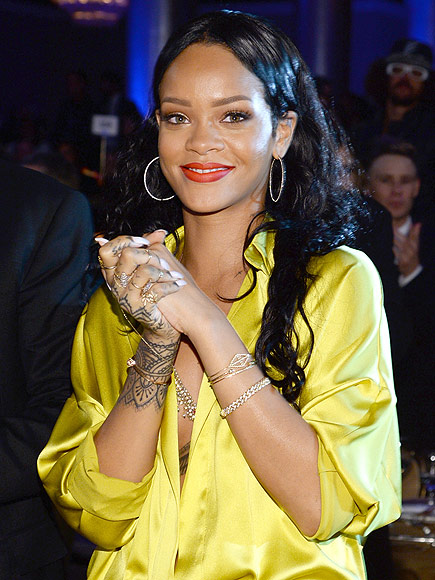 Rihanna Gets New Ink, Has 1988 Tattooed on Her Ankle