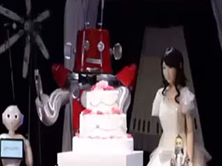 First Robot Wedding Takes Place in Japan (VIDEO)