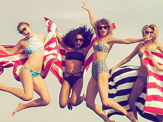 Taylor Swift Has an Early Fourth of July Party – And It's as Amazing as You Think It Would Be