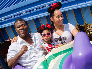 Tracy Morgan Visits Disney World as He Celebrates Daughter's Birthday