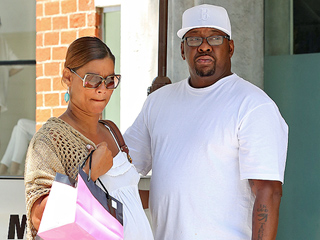 Bobby Brown Leaves Bobbi Kristina's Bedside to Dote on Pregnant Wife (PHOTOS)