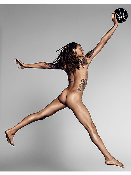 ESPN's Body Issue: Brittney Griner and Ali Kreiger's Naked Photos