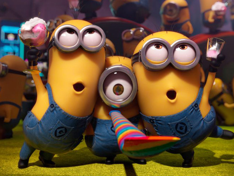 Minion Saves 5-Year-Old Girl from a 3-Story Fall