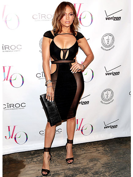 J.Lo's racy birthday look: Jennifer Lopez Birthday Dress