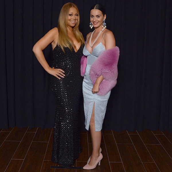 Katy Perry at Mariah Carey's Las Vegas Residency at Caesars Palace