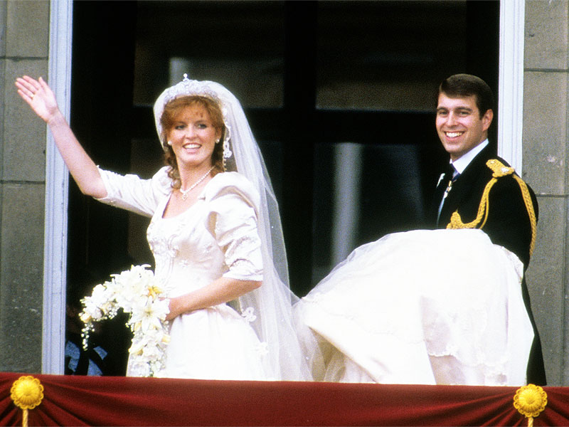Sarah Ferguson and Prince Andrew's Wedding Was 29 Years Ago Today!