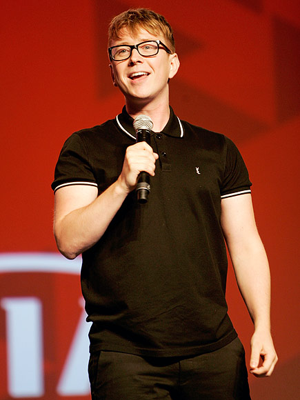 Tyler Oakley, YouTube Star at VidCon 2015