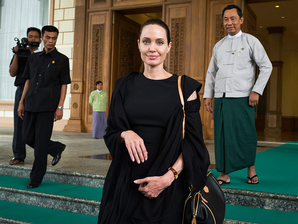 Angelina Jolie Pitt in Myanmar for Service Trip After Cambodia Visit