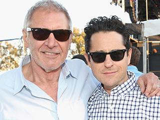 FROM EW: How J.J. Abrams Broke His Back Trying to Help Harrison Ford on the Set of Star Wars