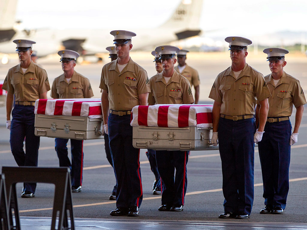 Remains of Marines Killed in WWII Have Returned Home After More Than 70 Years