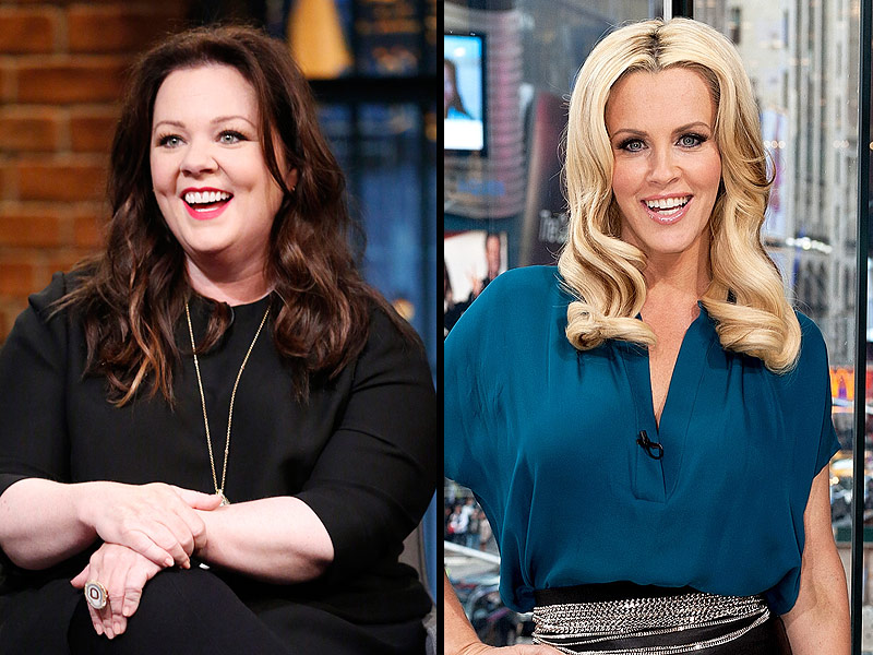 Jenny McCarthy PostsThrowback Thursday Instagram with Melissa McCarthy