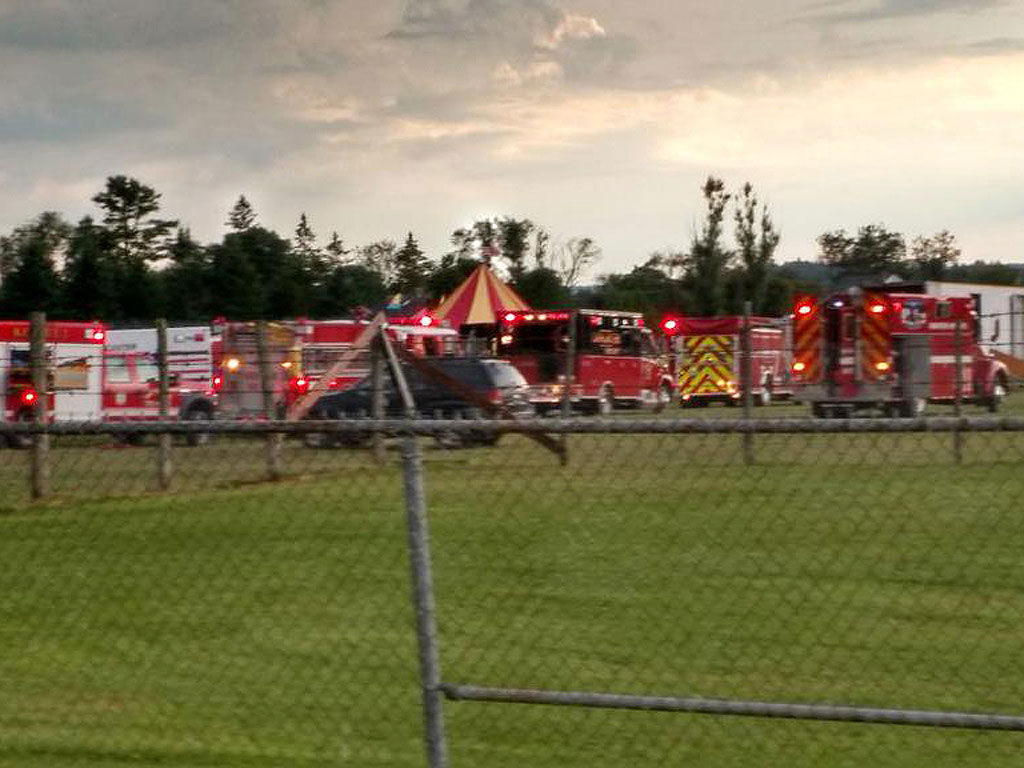Father, Daughter Killed, Dozens Hurt: New Hampshire Circus Tent Storm Collapse