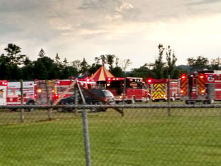 Father and Daughter Killed, 22 Injured After Circus Tent Collapses in New Hampshire