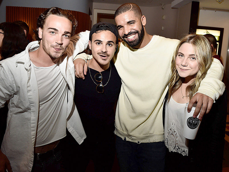Drake Reunites with Degrassi the Next Generation Costars in Toronto