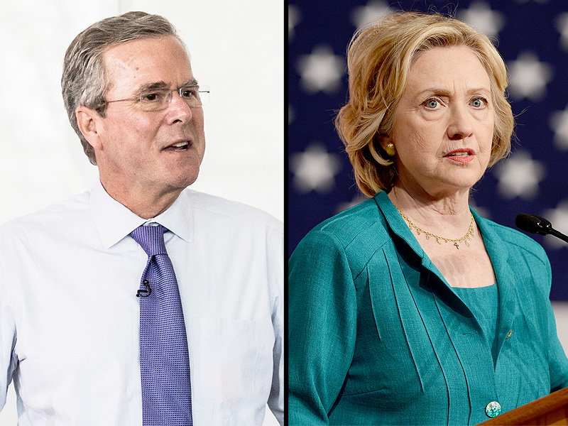 Hillary Clinton and Jeb Bush Fight Over Planned Parenthood, Women's Health
