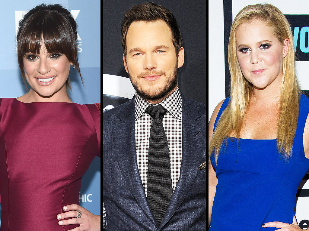 Chris Pratt, Amy Schumer, Lea Michele Talk TV This Week