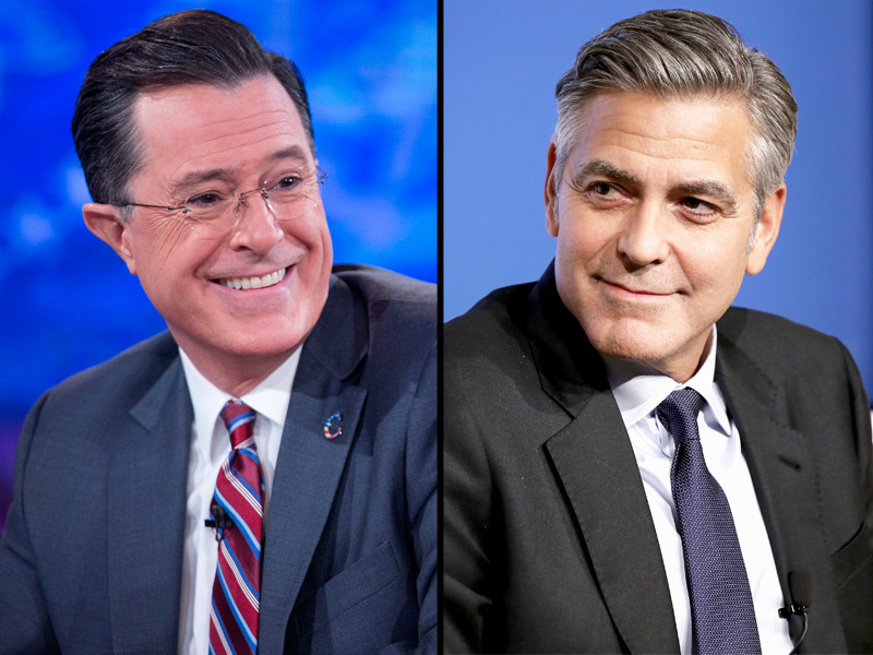 Stephen Colbert: George Clooney Is First Late Show Guest