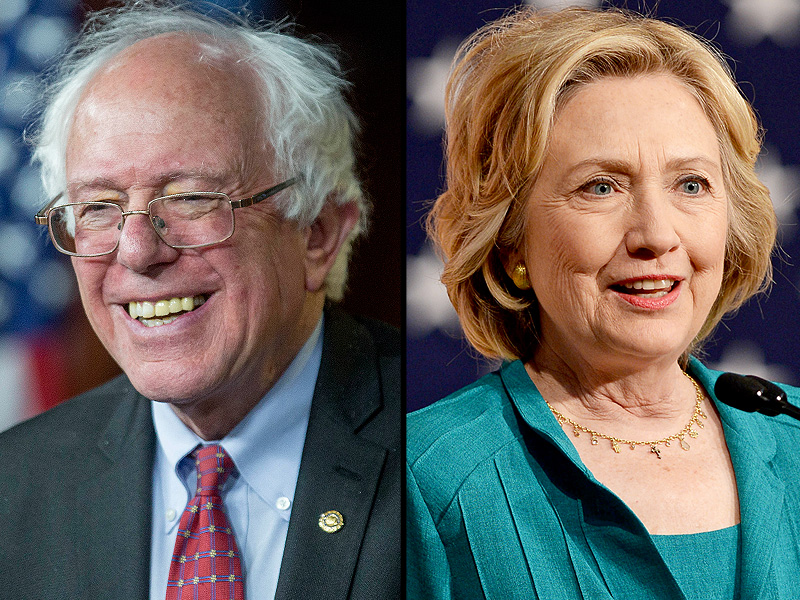 Bernie Sanders Polls Ahead of Hillary Clinton for the First Time