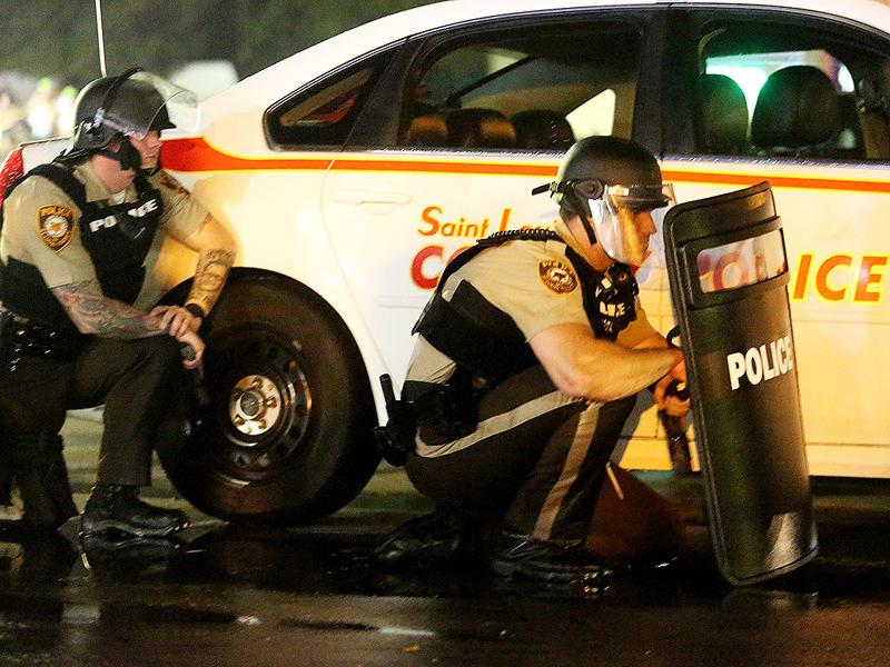 St. Louis County Police Release Surveillance Footage Ferguson Shooting Suspect