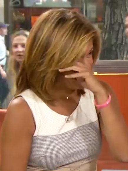 Hoda Kotb Cries on Today, Speaks of Kathie Lee Gifford's Strength