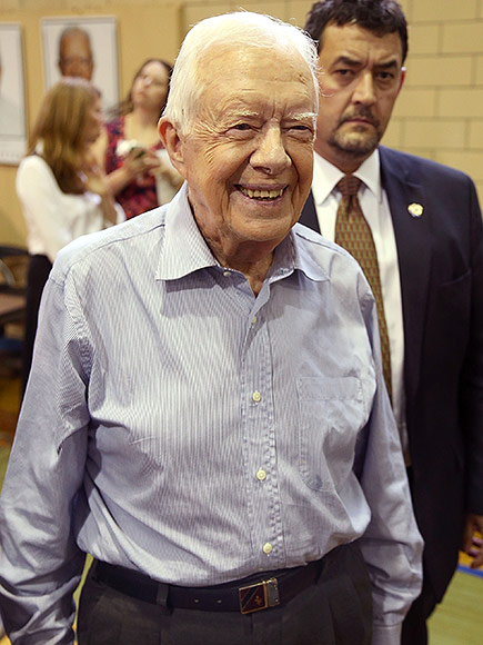 Jimmy Carter Coping with Cancer with Humor and Impatience
