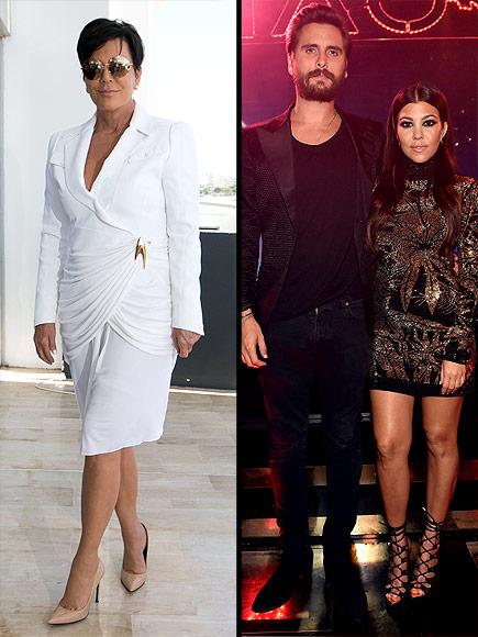 Kris Jenner Calls Kourtney Kardashian Her Hero After Scott Disick Split