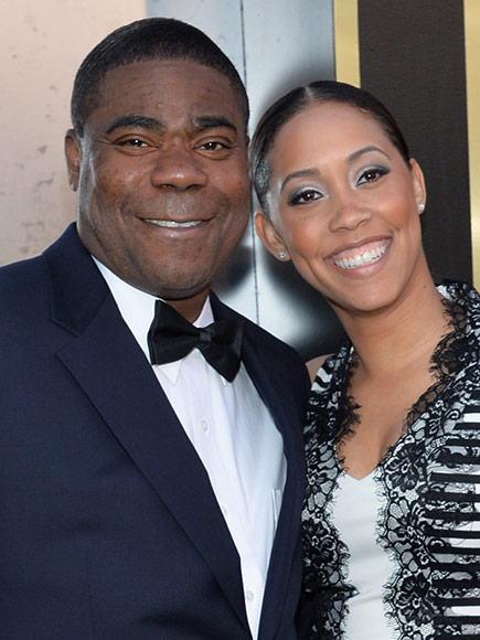 Tracy Morgan Marries Megan Wollover : People.com