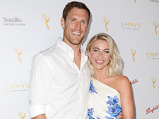 Julianne Hough and Fiancé Brooks Laich Make Red Carpet Debut After Engagement