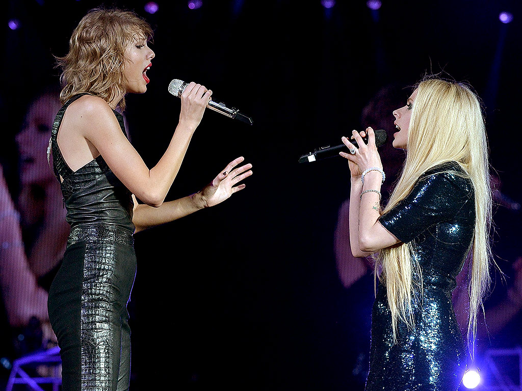 Avril Taylor end 'feud': Taylor Swift and Avril Lavigne